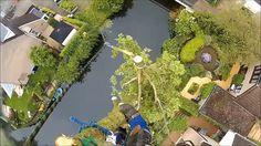 Ook voor boomverzorging bent u bij Schoffelstudent aan het juiste adres. Op onze website is in een video te zien hoe onze boomverzorger te werk gaat bij het kappen van een boom. www.schoffelstudent.nl