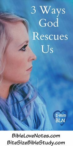 3 Ways God Rescues Us - Psalm 73 ~ Psalm 73, like other Psalms, tells us how to overcome discouragement when we: •See bad people rewarded (2-12)   •See good people in trouble (13-14)   •Feel confused and troubled (16)   •Doubt God's plans and purposes (21-22)  [...]