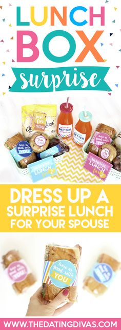 Lunch Box Surprise for Two- surprise your sweetie with a fun lunch date! Printable download included!!!