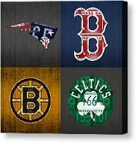 Image result for vintage boston sports wall decor