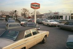 Long Island, New York, 1973. The fuel crisis of the mid-70s