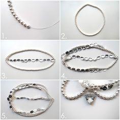 DIY Pearl Headpiece « M Blog