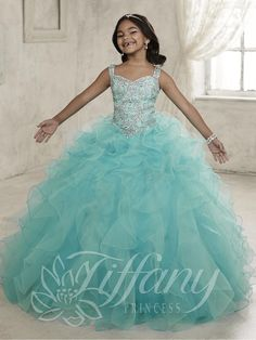 Tiffany Princess Pageant Dresses for Girls Style #13454