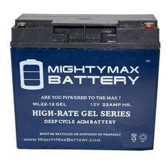 8 Pack Brand Product Mighty Max Battery 12V 7.2AH SLA Battery for for Vision Budget Pro 1000 UPS