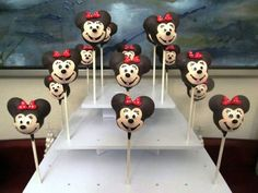 Minnie Mouse Cakes Designs Ideas, Baby Minnie Mouse Cake Topper