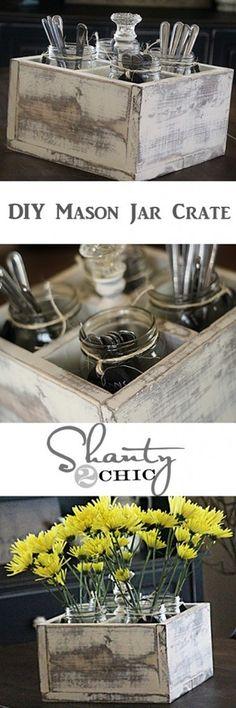 25 Awesome Mason Jar Creations and printables