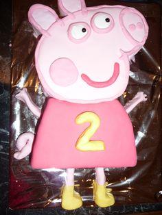 My Peppa Pig Cake!
