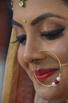 Fake Nose Rings, Nose Ring Stud, Beauty Full Girl, Beauty Women, Beautiful Girl Photo, Beautiful Women, Woman Face, Girl Face, Indian Actress Images