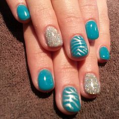 Gel polish and nail art by Debbie. Available Monday-Thursday 9-4 801-223-9356 #Padgram