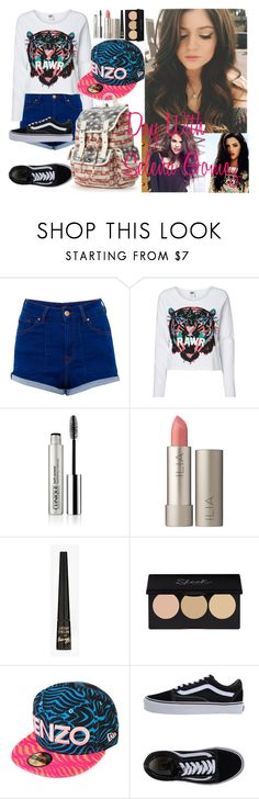 """SELENA"" by silvia-ruiz ❤ liked on Polyvore featuring Pull&Bear, Vero Moda, Clinique, Ilia, Barry M, Kenzo, Vans, Candie's, women's clothing and women"