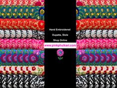 PinkPhulkari California Exclusive Collection Hand Embroidered Dupatta Buy  Online in USA. Visit our website to Shop Now www.pinkphulkari.com ————————- ✅Product of PinkPhulkari California ✅Image©️PinkPhulkari California Exclusive Collection, Friendship Bracelets, Shop Now, California, Website, Usa, Stuff To Buy, Shopping, Image
