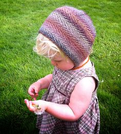 "Ravelry // pattern: Take Flight Bonnet // yarn: Dyed In The Wool from Spincycle Yarns in colorway ""Payback"""