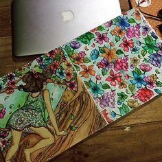 Instagram media riaredor - Finally done!!! #adultcoloringph #adultcoloring…
