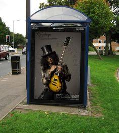 Gibson Guitar Corp. Epiphone Slash Les Paul ad.