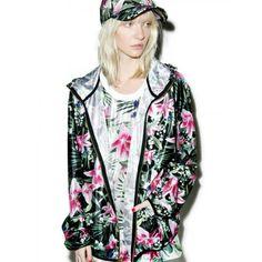 JOYRICH Optical Garden Jacket Tropical jacket made from 100% polyester NEVER WORN, NEW Joyrich Jackets & Coats