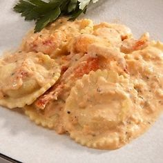 Notes from a lobster fishing village: Lobster Ravioli Recipe with a Crab Meat cream sauce