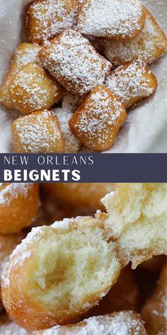 Sweet Desserts, Delicious Desserts, Yummy Treats, Sweet Treats, Cake Recipes, Dessert Recipes, Best Sweets, Beignets, Ice Cream Recipes