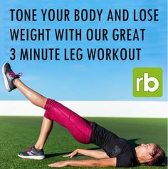 It's time to transform your body!