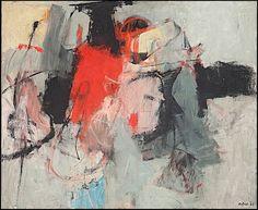 "Porta Portese"", painted by the Italian artistAfroBasaldella in 1964"