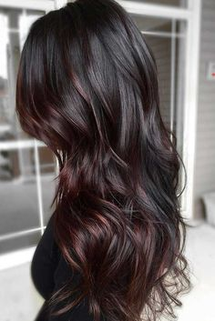 Cocoa Brown #longhair #layeredhair ★ Brown hair is often considered to be understated, but we think it is stunning and sexy. See these 20 sultry shades of brown for summer fun in the sun! #glaminati #lifestyle #brownhair