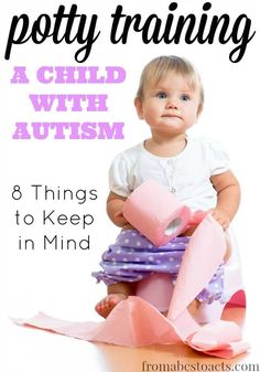 Potty training is an exciting, stressful, and messy business. Trying to potty train a child with autism can seem even more overwhelming. Fortunately, there are some ways that you can make the transition from diaper to underwear a lot smoother for both you and your child.