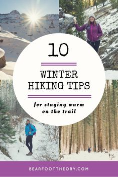 Learn our top 10 winter hiking tips to keep you toasty and safe on cold and snowy trails, including advice on layering, snacks, staying hydrated & more. Which tips are new to you? Camping In Nj, Camping Hacks, Camping Gear, Outdoor Camping, Diy Camping, Alaska Camping, Backpack Camping, California Camping, Camping Style