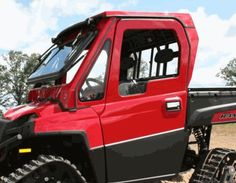 If you want your Polaris Ranger to be ready to go in virtually any weather situation; you need the Full Hard Cab Enclosure by WOC! Ride all year round with the help of one of the strongest enclosures. Witha  fixed glass windshield, steel frame, fiberglass exterior, OEM safety restraint and so much more - you can bet your bottom dollar that you'll be comfortable and safe in this enclosure. $4130.87 http://www.sidebysidestuff.com/full-hard-cab-enclosure-by-woc---full-size-ranger-800.html…
