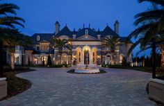 Showcase Luxury House plan designs, blueprints for high end luxury estate homes, dream homes, John Henry Architect, Florida Mediterranean homes, Texas homes, California homes, traditional homes, floor plans, european villas, estate homes