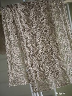 Haruha Scarf Knit Pattern // Hooked on Crochet // Free Lace Knitting Stitches, Lace Knitting Patterns, Knitting Charts, Lace Patterns, Free Knitting, Stitch Patterns, Creation Couture, Knitting Accessories, Knit Or Crochet
