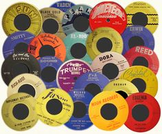 45's...we had to play them one at a time! So worth it! Still have mine!