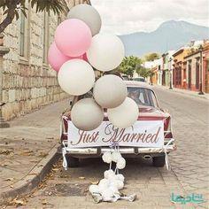 ترفندهای تزیین ماشین عروس: 10 نکته طلایی برای حرفه ای ها - شادیما Wedding Car Decorations, Anniversary Decorations, Engagement Decorations, Flower Decorations, Wedding Set Up, Wedding Tips, Floral Wedding, Pune, Wedding Getaway Car