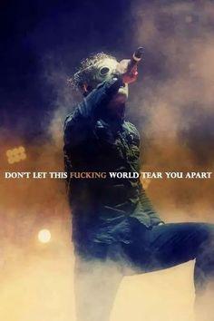 Slipknot lyrics are amazing