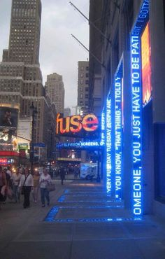 The House That FUSE Built- LED Displays from Sidewalks To Unique Channel Letters Wayfinding Signage, Signage Design, Booth Design, Environmental Graphics, Environmental Design, Interior Lighting, Lighting Design, Interactive Walls, Displays