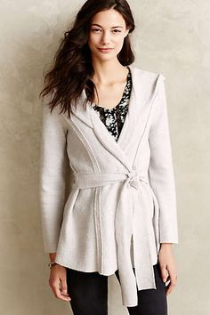 Anthropologie - Boiled Wool Wrap Jacket