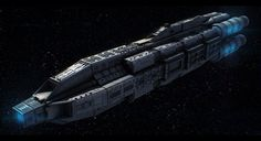 Terran Alliance Command Ship Commission by AdamKop.deviantart.com on @deviantART