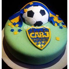 Club Atletico Boca Junior!! Argentinian Soccer by @SugarCoatedCake