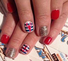 Loving the lobster nautical nail art. #VacayYourWay #Maxxinista