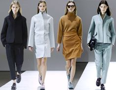 Jil Sander Fall/Winter 2014-2015 Collection - Milan Fashion Week   #MilanFashionWeek #MFW #fashionweek