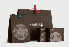 One&Only Cape Town brand identity by Inaria. Luxury hotel brand design and art direction.