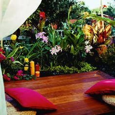 DIY Bali Retreat or Meditation Garden by sunset.com #DIY #Backyard_Projects #Bali_Retreat #Meditation_Garden #sunset_com