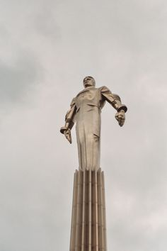 Monument dedicated to Gagarin in Moscow, Russia 1