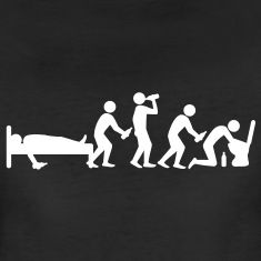 hangover_evolution T-Shirts