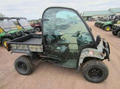John Deere 850D Gator w/Cab XUV. Example of an Auction Item Sold Online by Hansen & Young, Inc. Auction Items Were Located at Mason, WI.