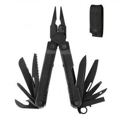 "Leatherman 831553 Multi-tool Rebar Peg Molle Black by Leatherman. $42.99. Rebar Black Molle Black Leather PegManufacture ID: 831553Leatherman RebarBlack Oxide 831553With the new Rebar fans will immediately recognize the iconic boxlike body and slopedneck design found in the Super Tool® 300 and Micra®. This new soontobe favorite rounds out Leatherman's classic ""heritage"" line of products by offering one in each size category. Just like the Super Tool 300 the Reba..."