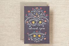 S/6 Letterpress Thank You Notecards on OneKingsLane.com