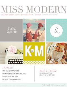 Dear Miss Modern Magazine. Right now it's just our pricing and policies, but have the feeling it may evolve into something more exciting   http://www.deluxemoderndesign.com
