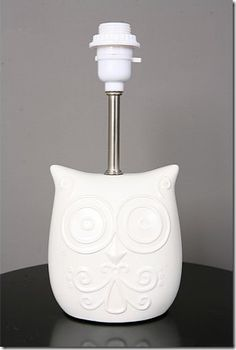 Not So Nocturnal Table Lamp | The Land of Nod | Big Girl Room ...