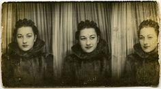 Very vintage photobooth pics