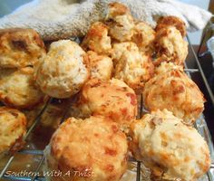 Southern With A Twist: Bacon Cheddar Biscuits