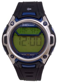 Price:$27.00 #watches Dunlop DUN-44-G03, This Dunlop timepiece is designed for the sporty Men. It's size, ruggedness and multiple functions make it a great value.